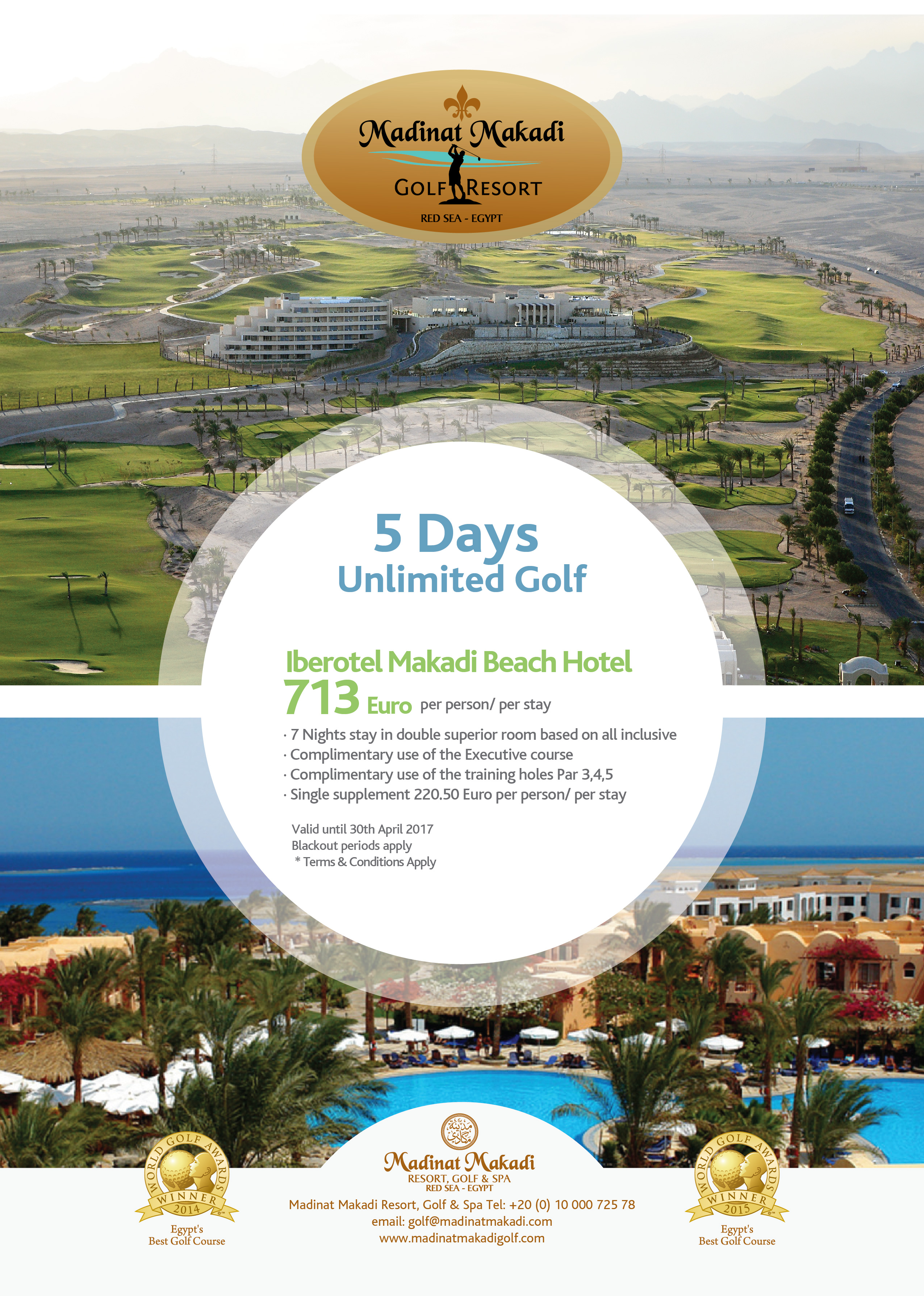 Golf Holidays In Egypt Iberotel